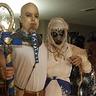 Photo #1 - Pharaoh and Mummified Egyptian Priestess