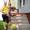 Photo #1 - Roxy and her beagle mom as pikachu