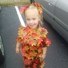 Photo #1 - Autumn Lynn as a pile of leaves for the fall festival at school 2013 3 years old