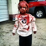 Photo #3 - AutumnLynn as a Zombie 2012 2 years old