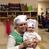 Photo #2 - Mom the baker and her dough boy!