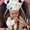 Photo #1 - Delaney as the Pillsbury Dough-Girl