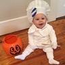 Photo #1 - His first Halloween #Pillsburydoughboy