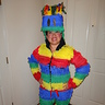 Photo #2 - Front view of my Piñata costume