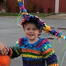 Photo #1 - Our son Zeke that 'piñata'