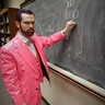 Photo #7 - Pink Freud lecturing