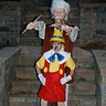 Photo #1 - Pinocchio and Gepetto