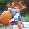 Photo #1 - Baby Pippi's super strength allows her to lift giant pumpkins. Someday she'll be strong enough to lift a horse with her bare hands.