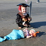 Photo #1 - Look what this little pirate found washed up on the beach!