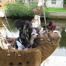 Photo #1 - jack sparrow and elizabeth swann aboard the black pearl