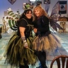 Photo #1 - me and my mother  i made both tutu and hats and wings and wands