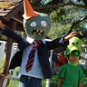 Photo #1 - Zombie running away from Pea shooter!