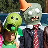 Photo #2 - Front view of Cone head Zombie and Pea Shooter