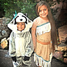 Photo #1 - Pocahontas and Meeko