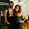 Photo #1 - My boyfriend and me dressed as Bane and Poison Ivy!