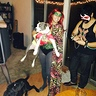 Photo #2 - My dog dressed as Robin and myself as Poison Ivy