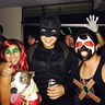 Photo #3 - Poison Ivy, Bane, Robin, and Batman!