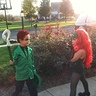 Photo #1 - Poison Ivy and the Riddler