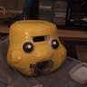 Photo #7 - Adding Pikachu facial features!