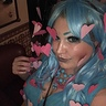 Photo #5 - Blue and pink makeup and lure closeup