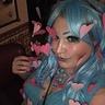 Photo #5 - Blue and pink makeup and lure closeup