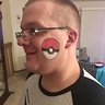 Photo #6 - Pokeball face paint free handed no stencil