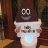 Photo #1 - Poop Emoji with Light up Toilet