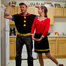 Photo #1 - Popeye and Olive Oyl