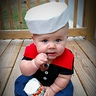 Photo #1 - Popeye Baby Costume