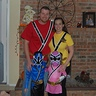 Photo #2 - Family of 4 Power Rangers