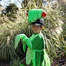 Photo #1 - Happy praying mantis loves his costume