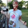 Photo #1 - Adding the fake blood