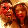 Photo #3 - Pregnant Zombie Bride and Groom