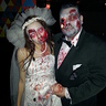 Photo #1 - Pregnant Zombie Bride and Groom