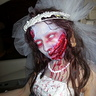 Photo #8 - Pregnant Zombie Bride and Groom