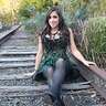 Photo #5 - sitting on the tracks
