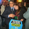 Photo #2 - Price Is Right Contestant and Host (Drew Carey)