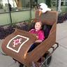 Photo #1 - Anna in her sleigh