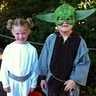 Photo #1 - Princess Leia and Yoda