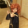 Photo #1 - Lilee as Merida!