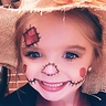 Photo #2 - her face paint