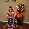 Photo #1 - Princess Zelda and Skull Kid