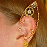 Photo #3 - Wire-wrap steampunk elf ears.