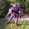 Photo #2 - Purple Dragon in Defense Stance