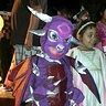 Photo #3 - Purple Dragon. Hamming it up at the local block party