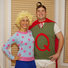 Photo #1 - 90s Nickelodeon throwback! Homemade Quailman and Patti Mayonnaise costumes!