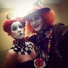 Photo #2 - Queen of Hearts and Mad Hatter