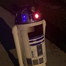 Photo #3 - R2D2 at night - light features