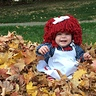 Photo #2 - Playing in the leaves!