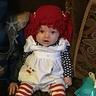 Photo #1 - Amelia is Raggedy Ann